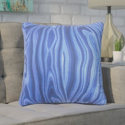 Boyer Geometric Throw Pillow Cover Color: Blue
