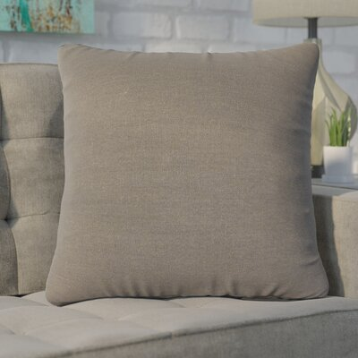 Christy Throw Pillow Size: Large, Color: Gray