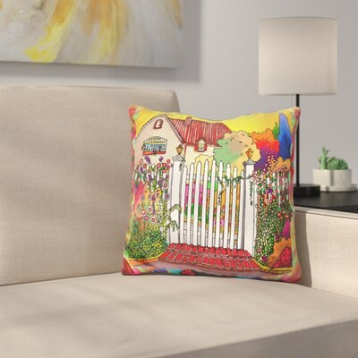 Deco Cottage Throw Pillow