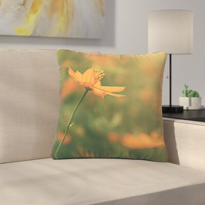 Angie Turner Cosmo Digital Floral Outdoor Throw Pillow Size: 16 H x 16 W x 5 D