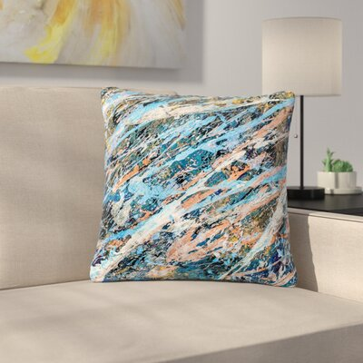 Bruce Stanfield One Abstract Outdoor Throw Pillow Size: 18 H x 18 W x 5 D