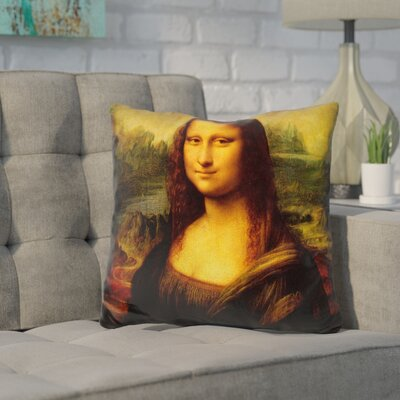 Cornelius Monna Lisa Throw Pillow