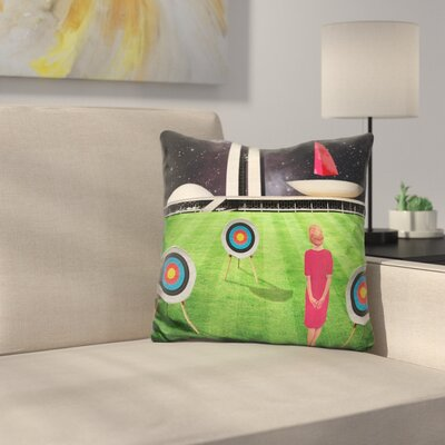 Planalto Central Throw Pillow