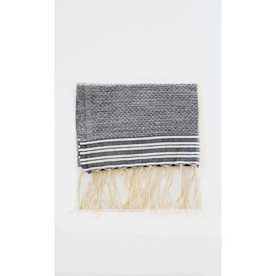Pouncy Fouta Beach Towel (Set of 2) Color: Black