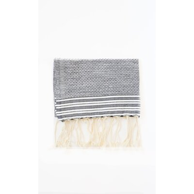 Pouncy Fouta Beach Towel (Set of 2) Color: Gray