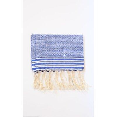 Pouncy Fouta Beach Towel (Set of 2) Color: Blue