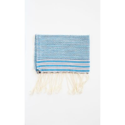 Pouncy Fouta Beach Towel (Set of 2) Color: Turquoise