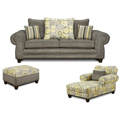 Gambill 3 Piece Living Room Set