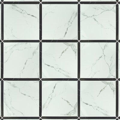 Exclusif 17.63 x 15.13 Ceramic Field Tile in Carrara