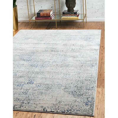 Parodi Gray Area Rug Rug Size: Rectangle 9 x 12