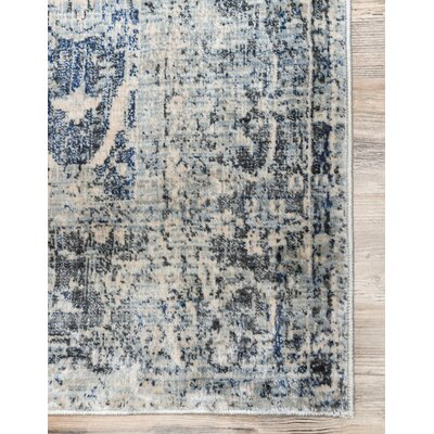 Parodi Gray Area Rug Rug Size: Rectangle 5x8