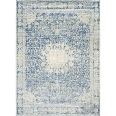Parodi Navy Blue Area Rug Rug Size: Rectangle 5 x 8