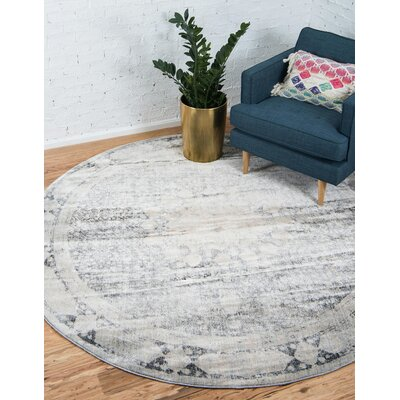 Parodi Gray Area Rug Rug Size: Rectangle 5 x 8