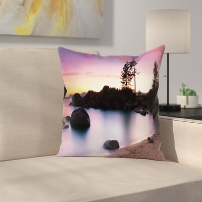 Lake Tahoe Cushion Pillow Cover Size: 24 x 24