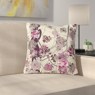 Angelo Cerantola Springtime Again Floral Outdoor Throw Pillow Size: 18 H x 18 W x 5 D
