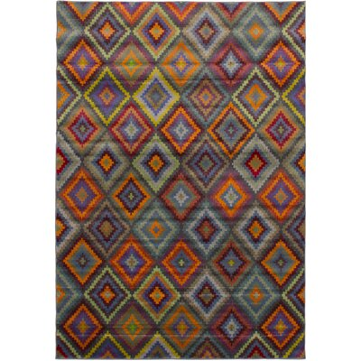 Peralez Red Area Rug