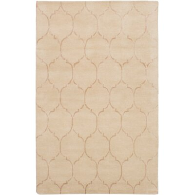 Helsley Hand-Tufted Cream Area Rug