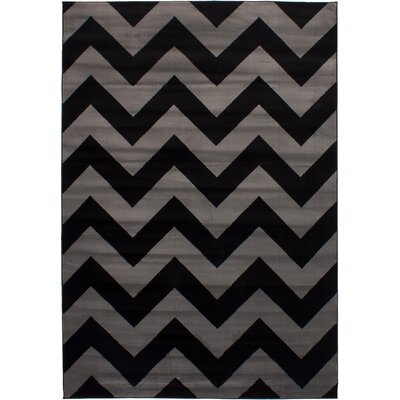 Maclean Black/Gray Area Rug