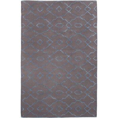 Metzinger Hand-Tufted Dark Gray Area Rug