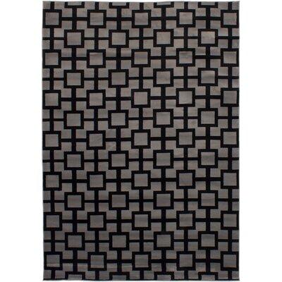 Helvey Black/Gray Area Rug