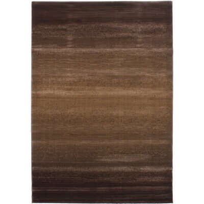 Douthit Power Loom Brown Area Rug