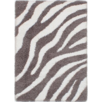 Partin Cream/Dark Gray Area Rug