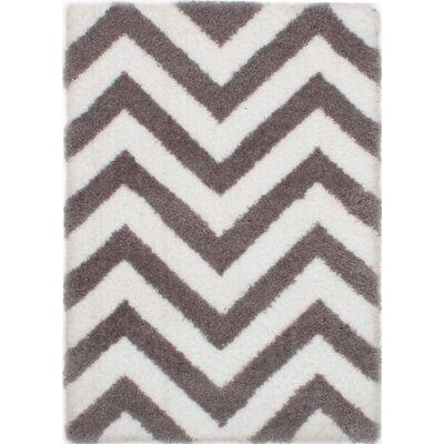 Maclennan Cream/Dark Gray Area Rug