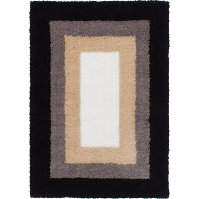 Maclennan Black/Cream Area Rug