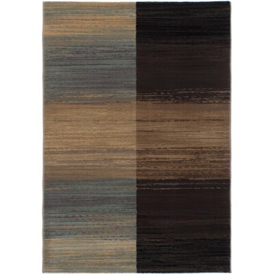 Partida Beige/Dark Brown Area Rug
