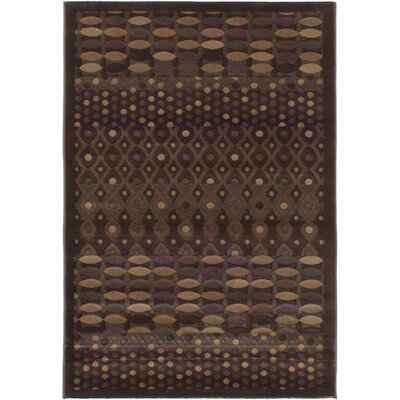 Roundtree Dark Brown Area Rug