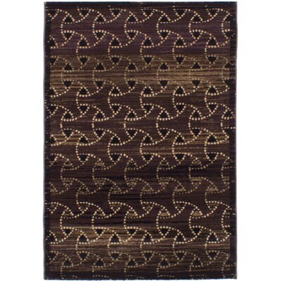 Partida Dark Brown Area Rug