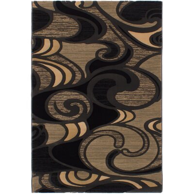 Macleod Black Area Rug