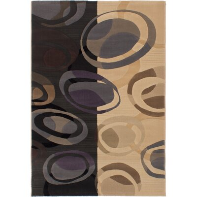 Macleod Beige/Black Area Rug