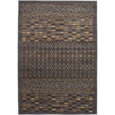 Roundtree Power Loom Gray Area Rug