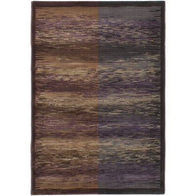 Partida Dark Brown/Dark Gray Area Rug