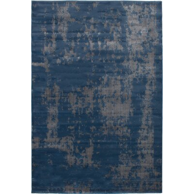 Grogg Dark Blue Area Rug