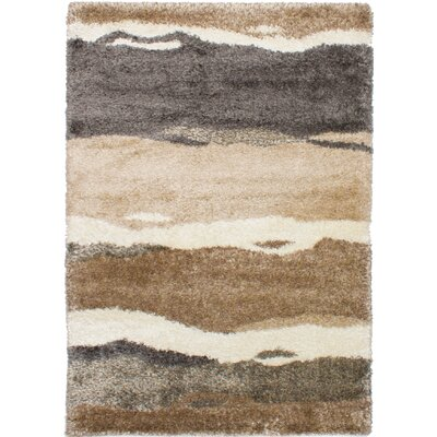 Poulsen Brown/Dark Gray Area Rug