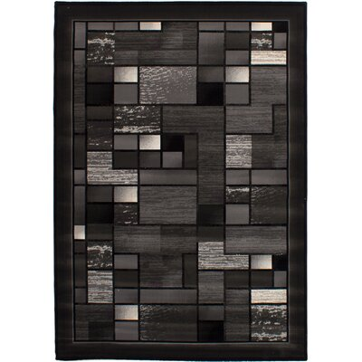 Shults Dark Gray Area Rug