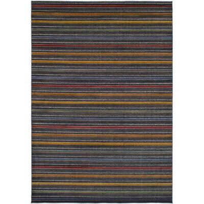 Maclean Gray/Red Area Rug