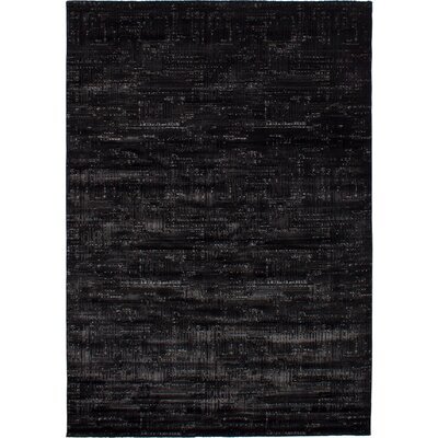 Grogg Black Area Rug