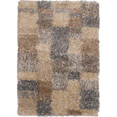Maclennan Dark Gray/Tan Area Rug