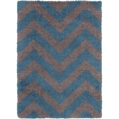 Maclennan Gray/Turquoise Area Rug