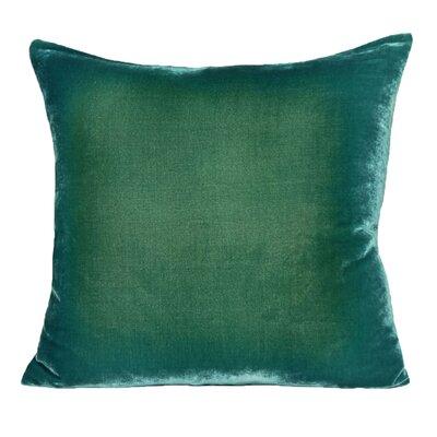 Ombre Velvet Throw Pillow Color: Emerald