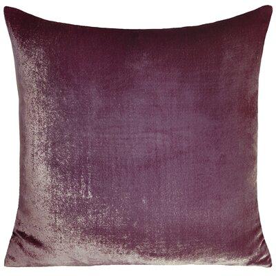Ombre Velvet Throw Pillow Color: Mauve
