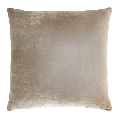 Ombre Velvet Throw Pillow Color: Coyote
