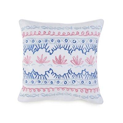 Summer Daze Cotton Throw Pillow