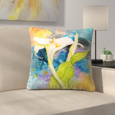 Sunshine Taylor Calla Cosmos Indoor/Outdoor Throw Pillow Size: 18 x 18