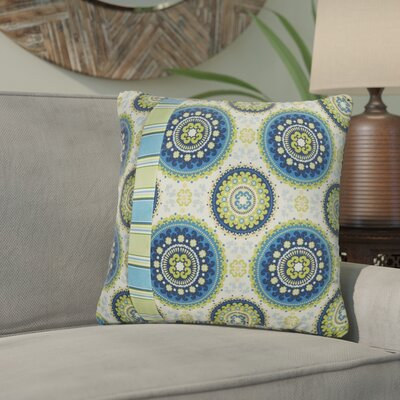 Meidanis Indoor/Outdoor Throw Pillow Size: 18 x 18