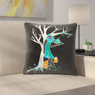 Keeper of the Wood Throw Pillow Size: 18 x 18
