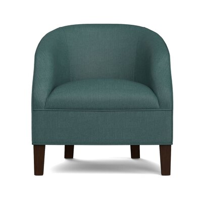 Mouros Barrel Chair Upholstery: Peacock Blue